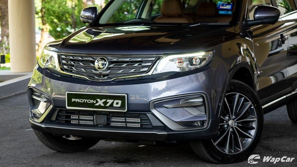 2020 Proton X70 1.8 Premium 2WD Exterior 020