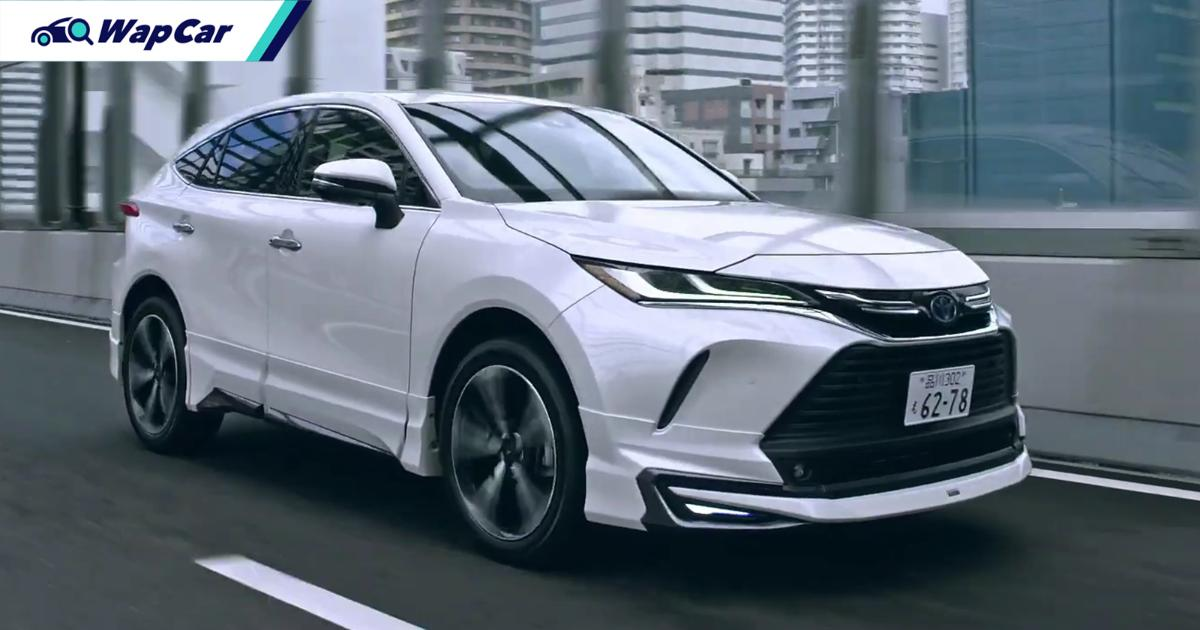 Some say the Modellista-modified 2021 Toyota Harrier ruins the subtlety - what say you? 01