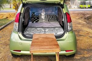 On a tight budget but need a holiday? Time to convert your Myvi into a campervan!