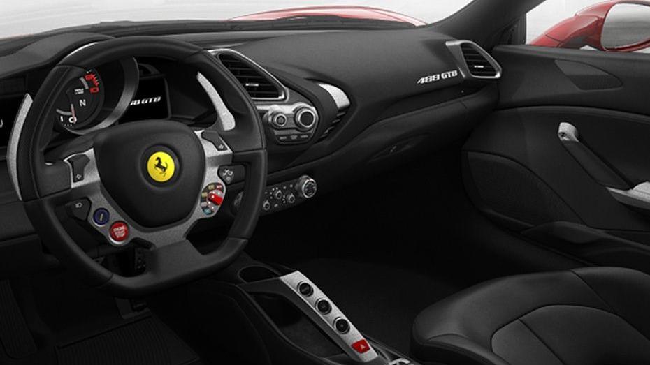 Ferrari 488 (2015) Interior 011