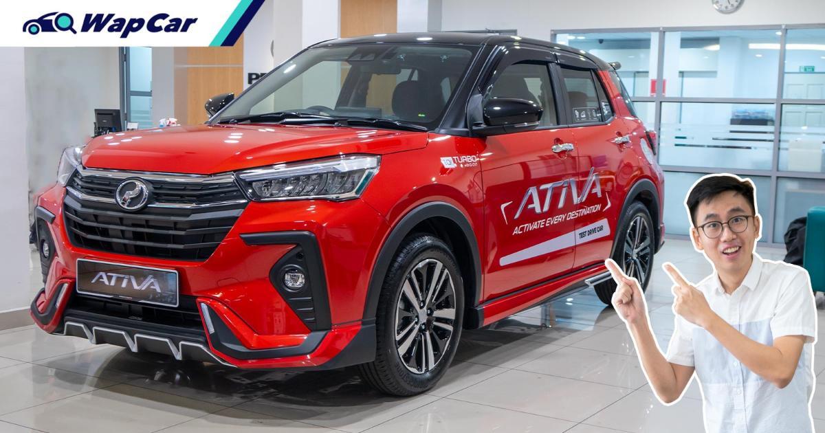2021 Perodua Ativa Malaysia Review