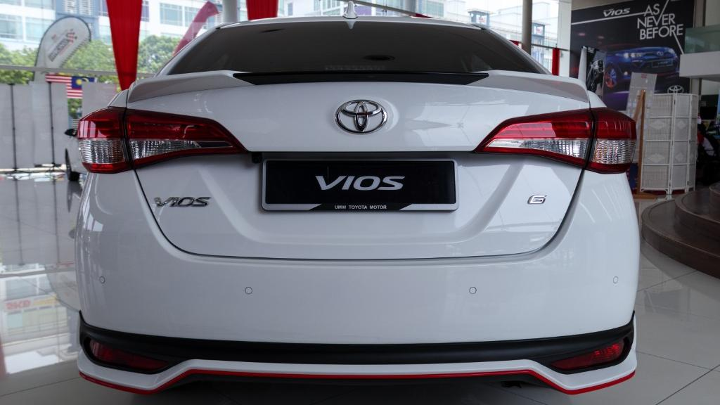 2019 Toyota Vios 1.5G Exterior 004