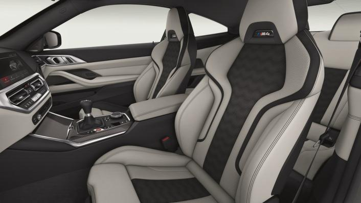 2021 BMW M4 Competition Coupe Interior 005