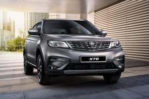 Proton X70, the C-segment SUV priced at RM 99,800 - 123,800