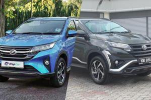 Perodua Aruz: apa perbezaan dengan Toyota Rush?