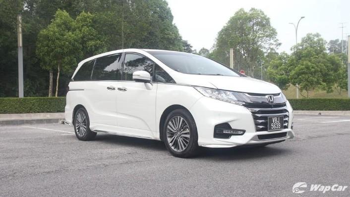 2018 Honda Odyssey 2.4 EXV Exterior 003
