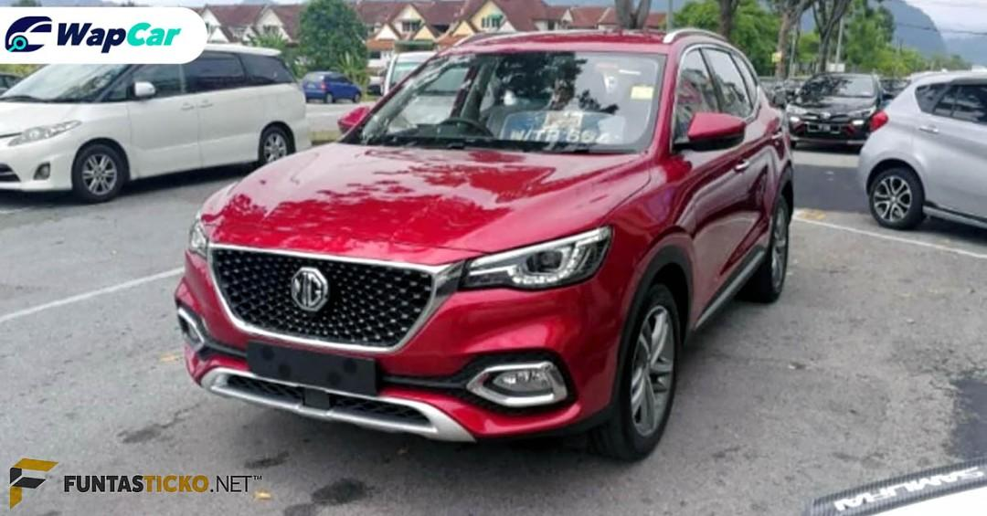 Spied: 2020 MG HS spied, Proton X70 rival coming soon? 01