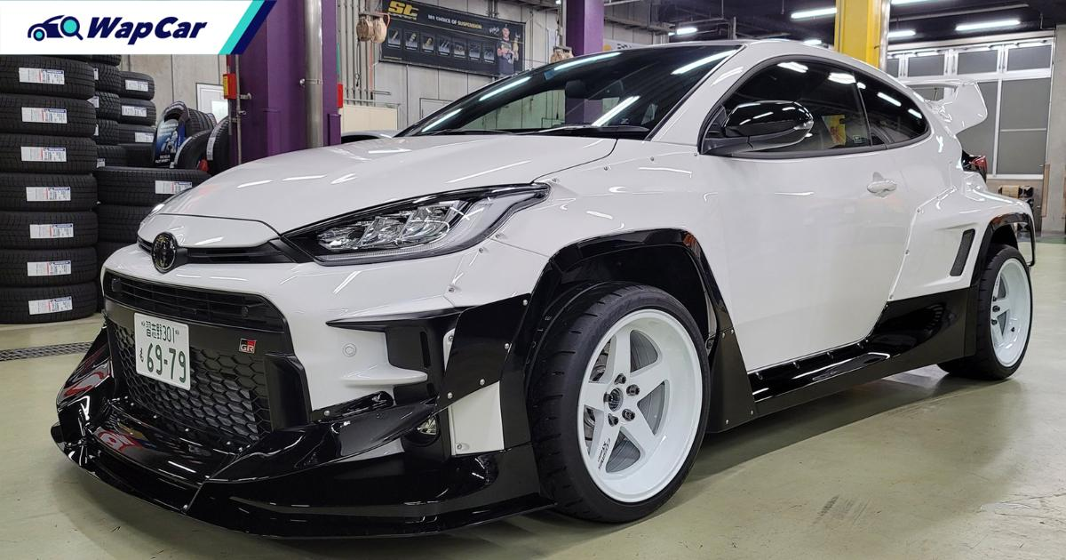 To cost RM 300k++ in Malaysia new, Rocket Bunny cut up ...