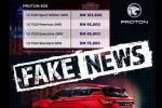 This is why there's still no confirmed price list for the Proton X50 yet