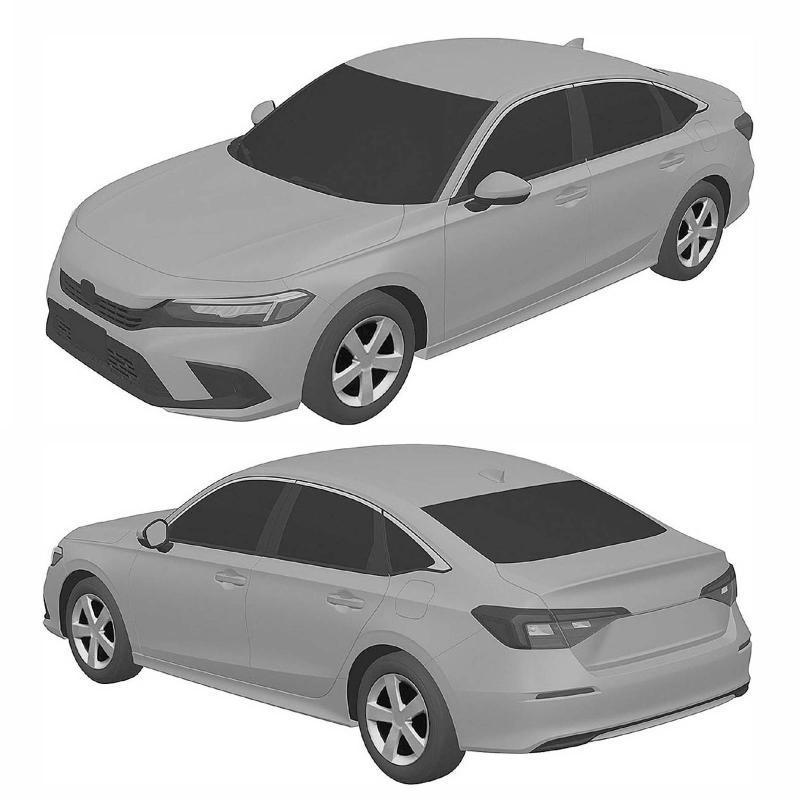 2022 Honda Civic generasi 11 digayakan dengan lebih realistik! 02
