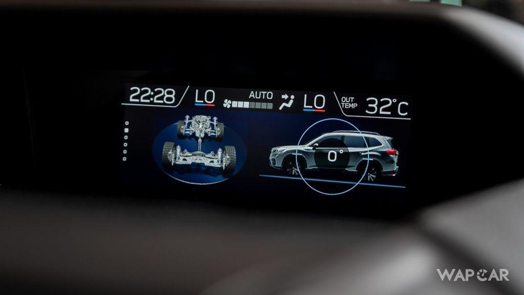 Subaru Forester (2019) Interior 014