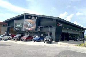 New look for Mitsubishi Motors' new 3S Centre in Melaka