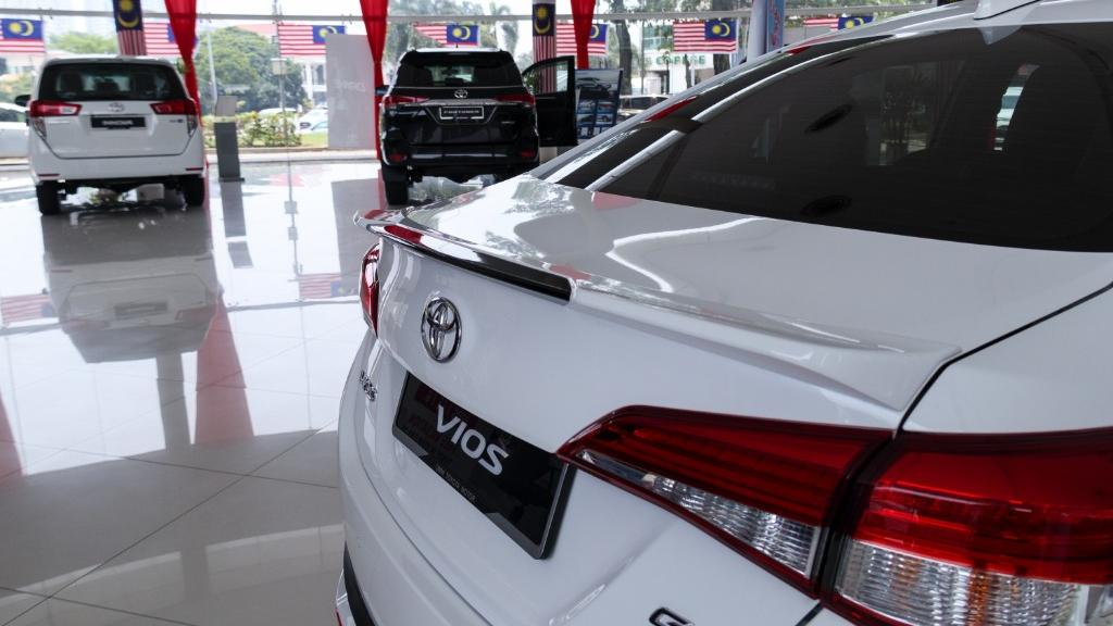 2019 Toyota Vios 1.5G Exterior 017