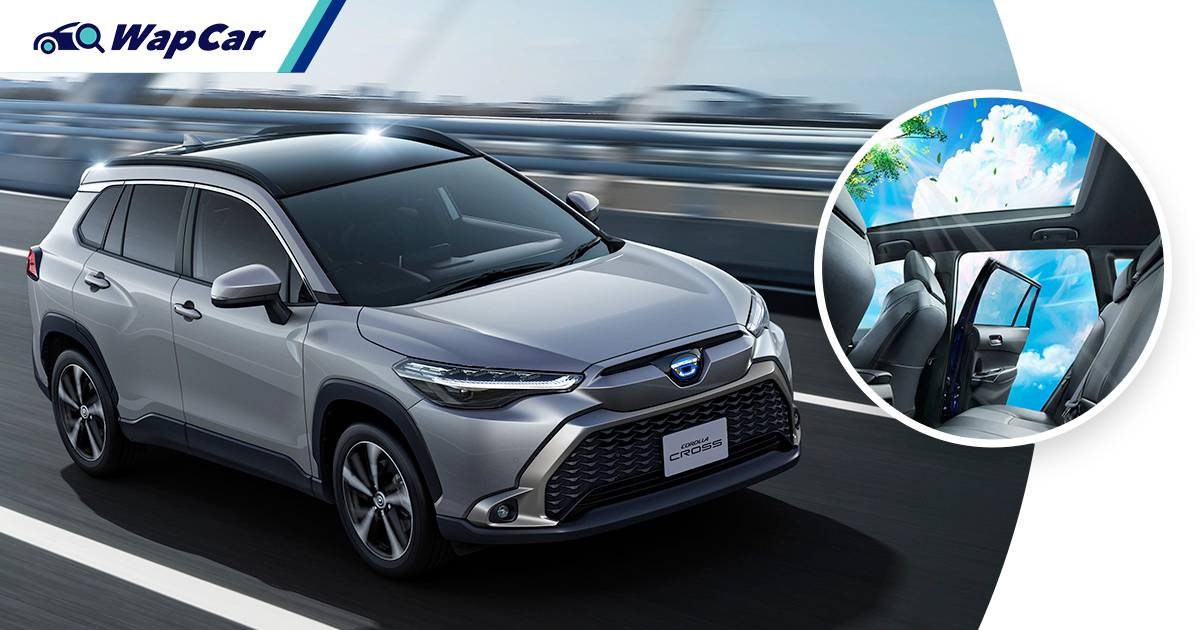 Toyota Corolla Cross launched in Japan – Hybrid doubles as a powerbank, adds panoramic sunroof 01