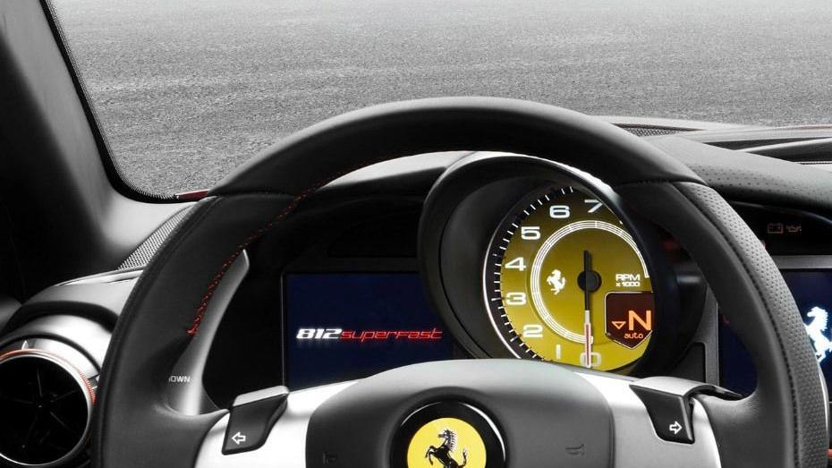 Ferrari 812 Superfast (2017) Interior 004