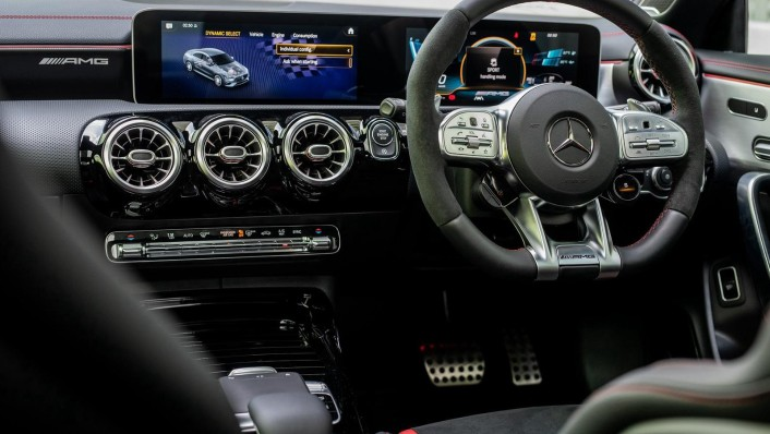 2020 Mercedes-Benz AMG CLA 45 S Interior 002