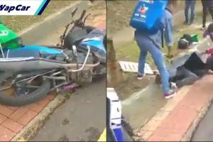 Kematian kedua akibat langgar lubang jalan, rider GrabFood kecundang di Damansara