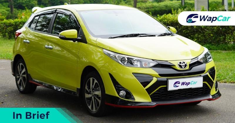 2019 Toyota Yaris in brief