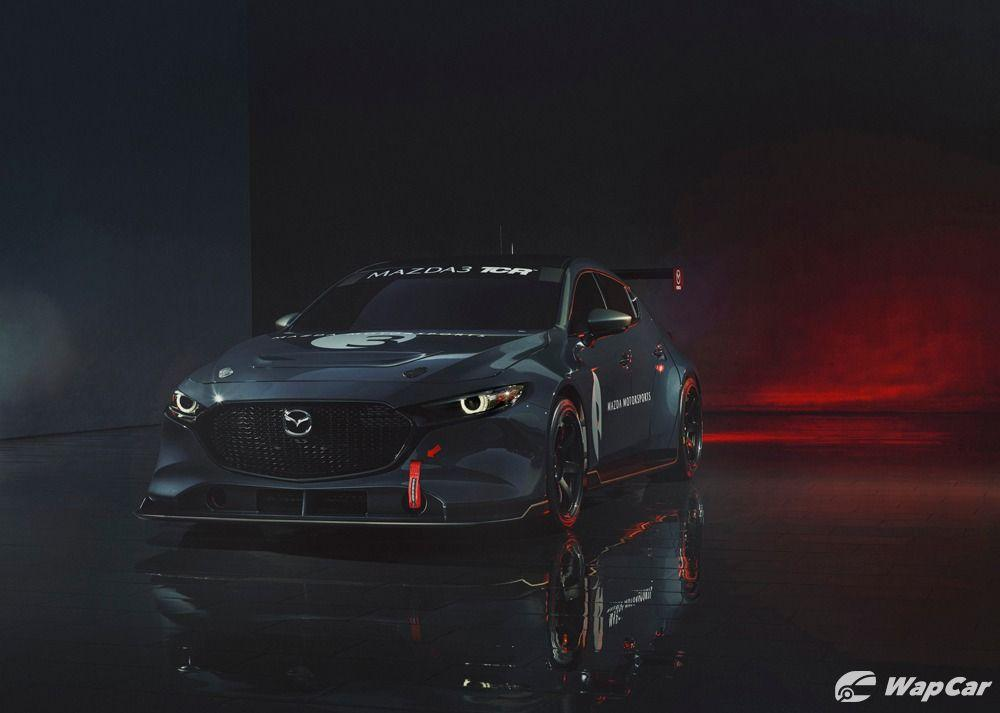 Mazda 3 TCR front