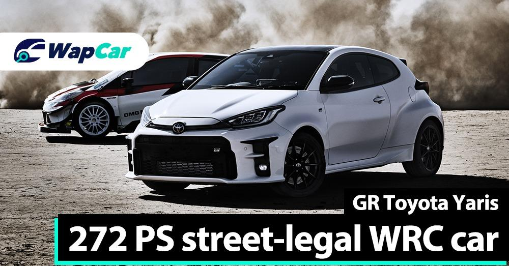 The Toyota GR Yaris is a reborn Lancer Evolution, WRC car by Tommi Makinen for the streets 01