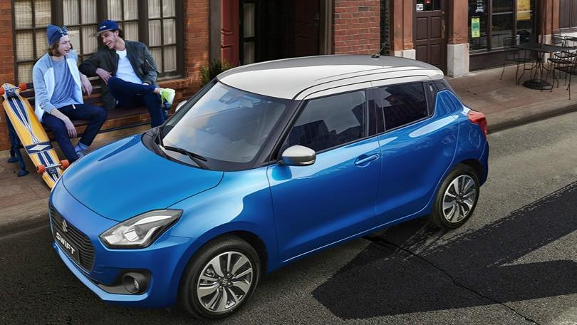 Suzuki Swift (2018) Exterior 008
