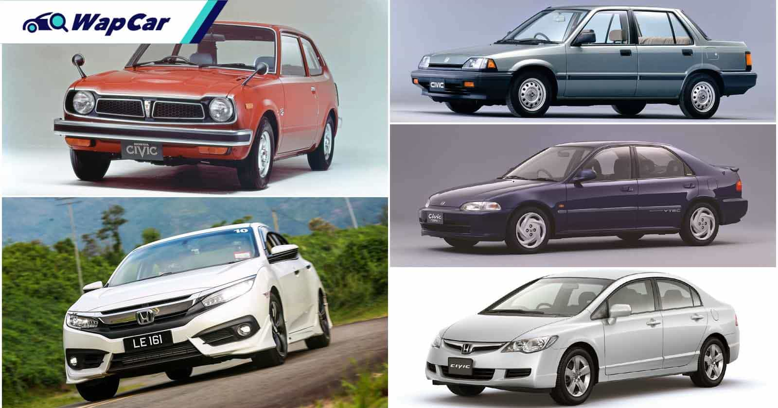 Honda Civic: 50 tahun di persada dunia - 7 sebab ia kekal popular di Malaysia 01
