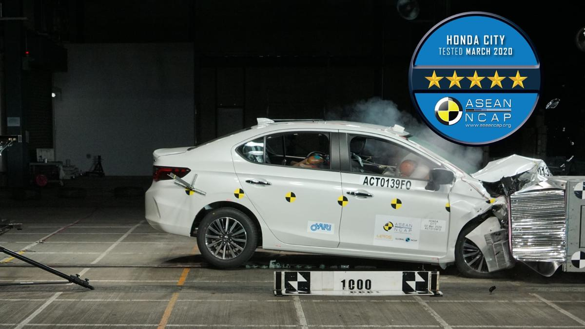 All-new 2020 Honda City gets 5-star ASEAN NCAP – maximum points for side impact protection 01