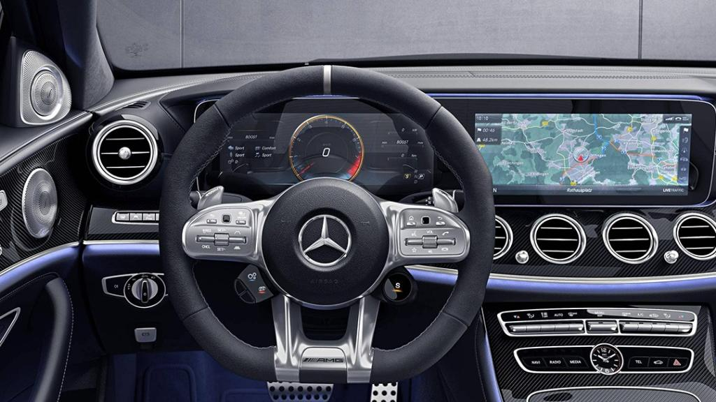 Mercedes-Benz AMG E-Class (2019) Interior 008