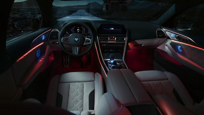 2020 BMW M850i xDrive Gran Coupe Interior 009