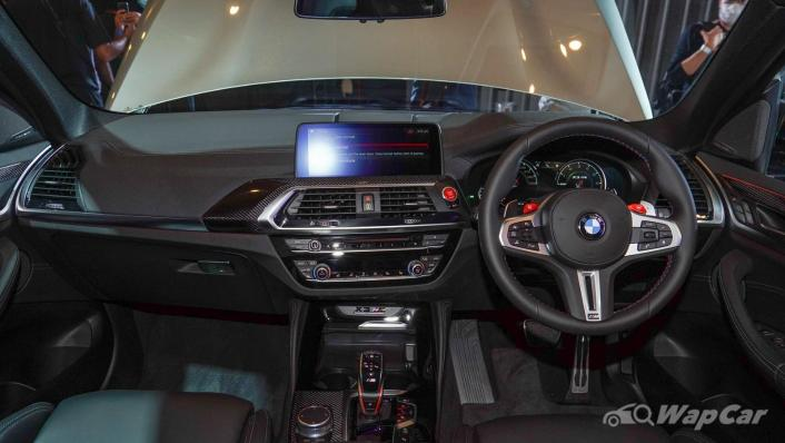 2020 BMW X3 M Competition Interior 001