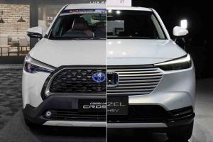 对比2021 Toyota Corolla Cross的真正对手 —— 2022 Honda HR-V