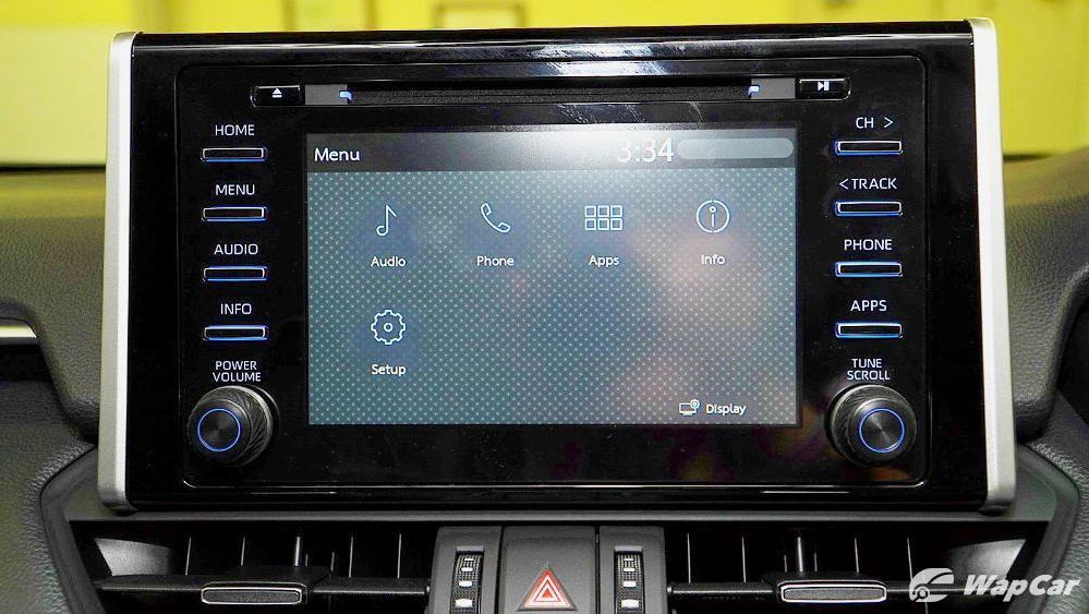 2020 Toyota RAV4 2.5L Interior 059