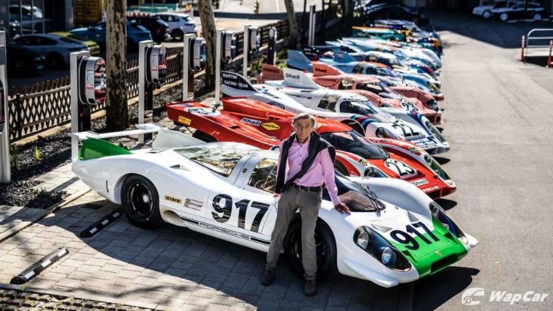 Hans Mezger: Iconic Porsche engineer dies, aged 90 02