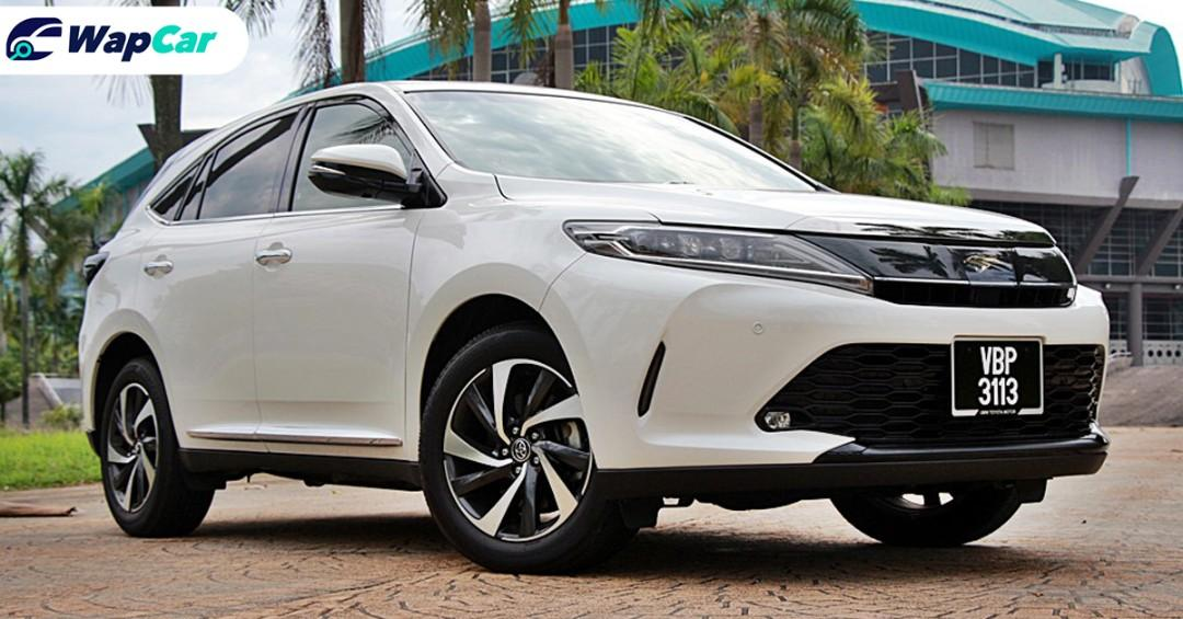 Toyota Harrier, buy a recond and save over RM20k or buy an official import? 01