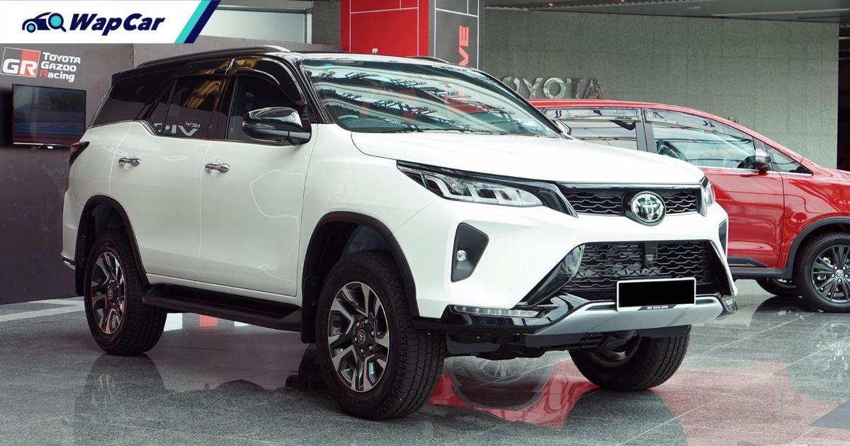 Your guide to choosing the perfect 2021 Toyota Fortuner variant in Malaysia 01