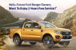 Own a Ford Ranger? Here's how you can get 2-year free service courtesy of SDAC-Ford