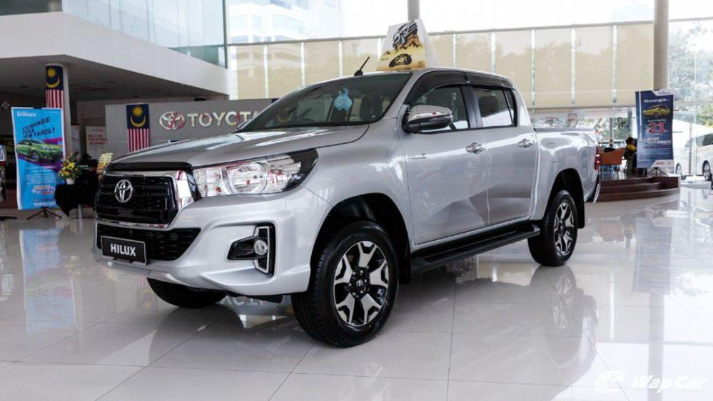 2018 Toyota Hilux Double Cab 2.4 L-Edition AT 4x4 Exterior 001