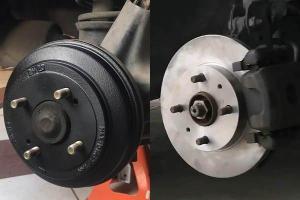 如果碟式煞车更好的话,为什么现在的汽车还在用鼓式煞车?