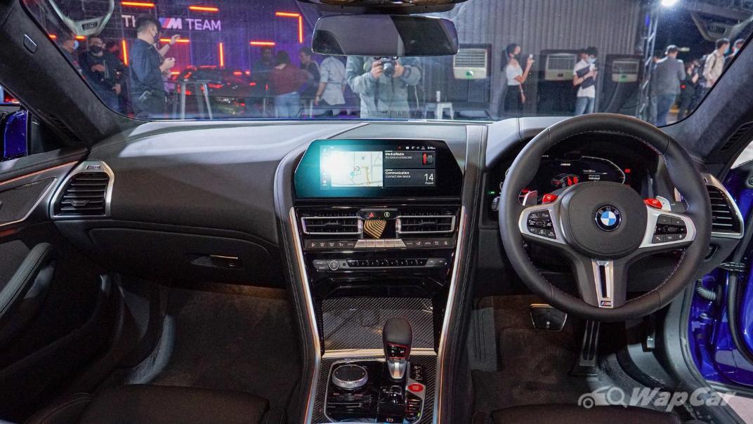 2020 BMW M850i xDrive Gran Coupe Interior 001