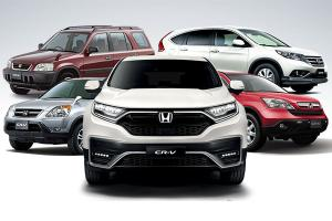 25 years of the Honda CR-V - All you need for a family car