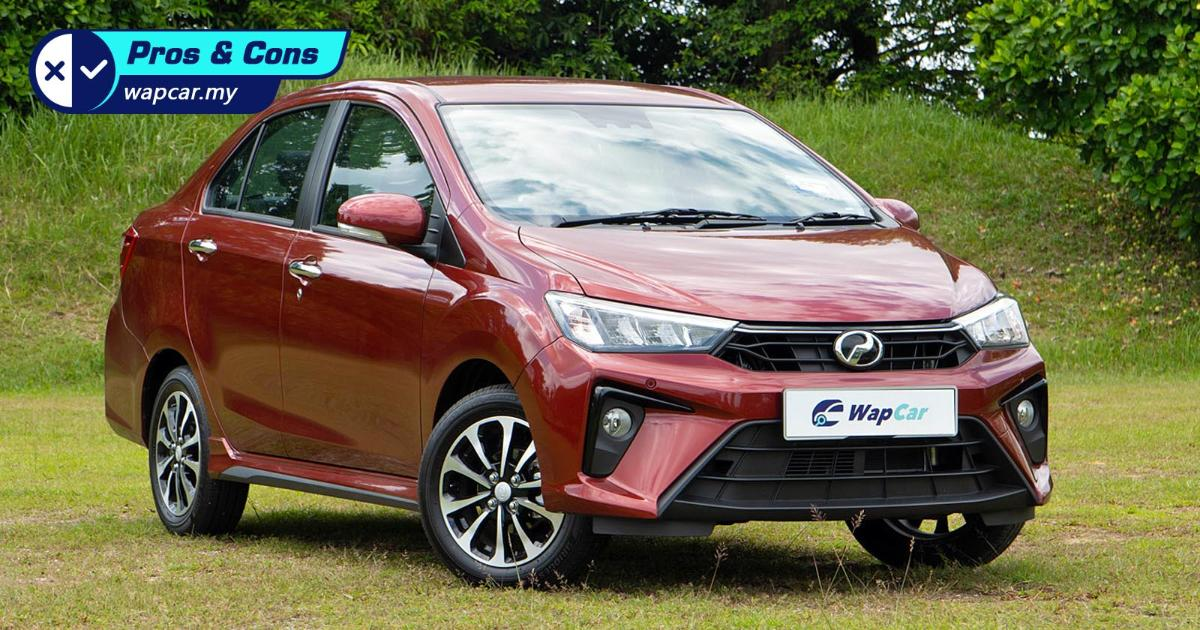Pros and Cons: 2020 Perodua Bezza – Excellent fuel economy but why the fixed steering? 01