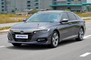 Ratings: 2020 Honda Accord 1.5 TC-P - High score in most areas, 192/250 pts overall