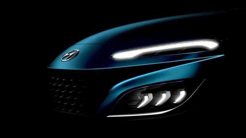2021 Hyundai Kona facelift teased! New sport-car like bonnet 02