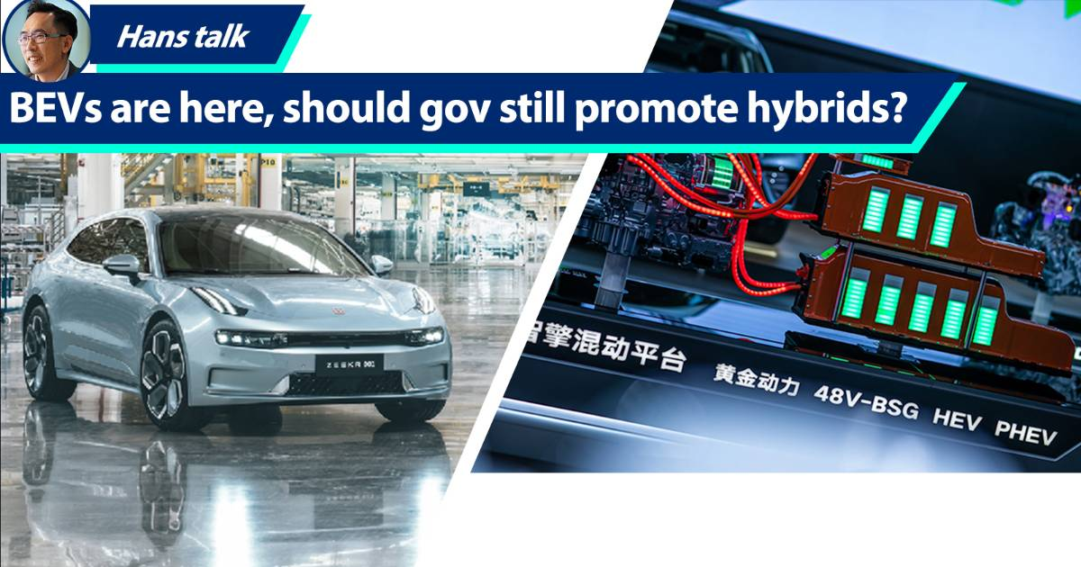 Ignore hybrids to focus on BEVs? This is what Geely's EV expert thinks 01