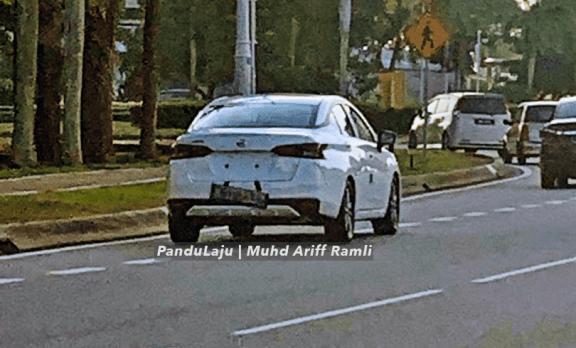 Spied: 2020 Nissan Almera in white, spotted again in Putrajaya! 02