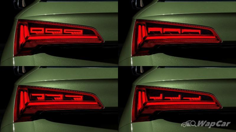 Lampu belakang OLED digital Audi pada 2020 Audi Q5 sebenarnya ialah skrin TV 02