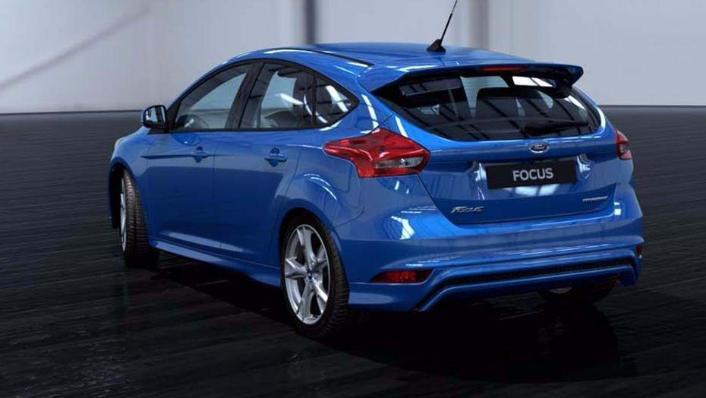 Ford Focus Sedan (2017) Exterior 006