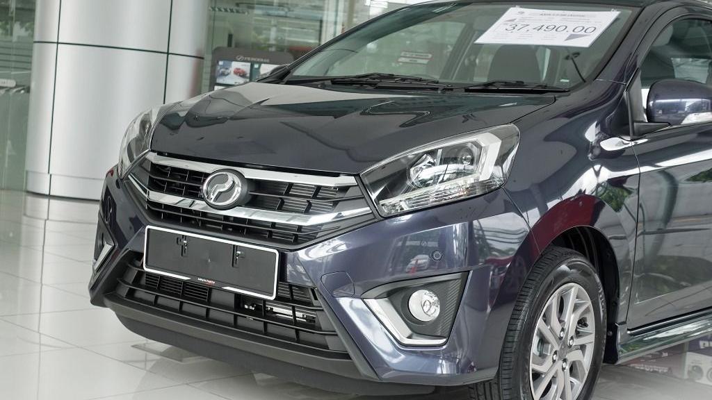 2018 Perodua Axia SE 1.0 AT Exterior 010