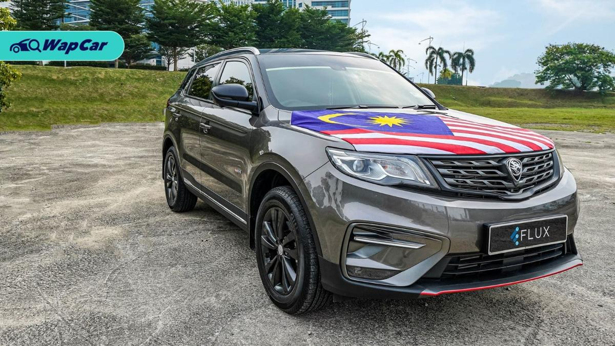 What's the resale value of a Proton X70? Flux has an alternative 01