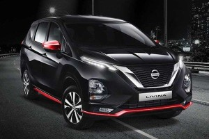 2020 Nissan Grand Livina gets a 'Sporty Package' in Indonesia, only available in black